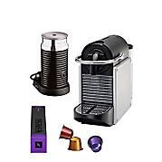 Magimix M110 Pixie Nespresso machine + Aeroccino 3 melkopschuimer